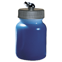Paasche 3 Ounce Plastic Bottle Assembly For HS Airbrush - HPS-3-OZ