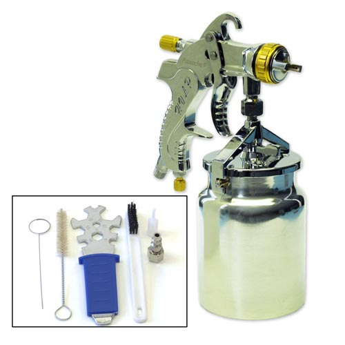 Paasche Siphon Feed HVLP Spray Gun with 1.4mm Head - LXS-14