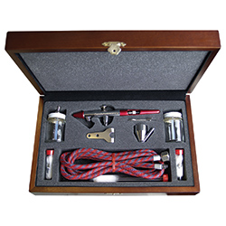 Paasche Airbrush Paasche Millennium Airbrush Set with Deluxe Wood Carrying Case