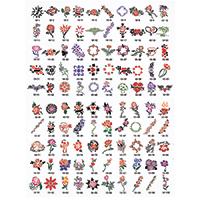 Paasche Airbrush Paasche SB-10 Tattoo Stencil Design Book - Airbrush ...