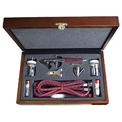 Paasche Airbrush Paasche Model VL-3W Airbrush Set with Deluxe Wood Carrying Case