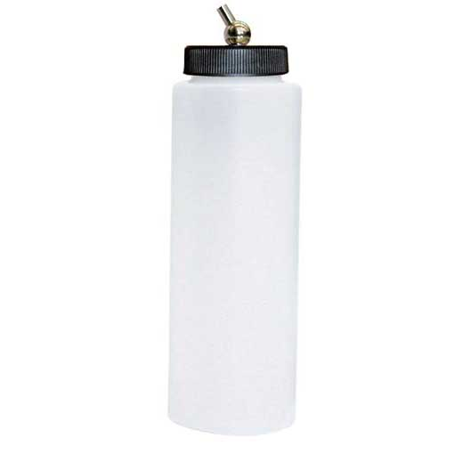 Paasche 8oz Plastic Bottle Assembly For VL, MIL, SI and TS - VLP-8-OZ