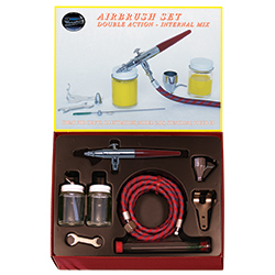 Paasche Airbrush Paasche Model VV Left Hand Single Feed Airbrush Set