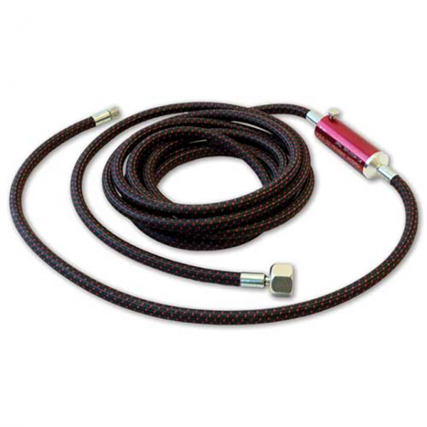 Paasche Model A-1/8-8MT 8' Air Hose With MT Moisture Trap