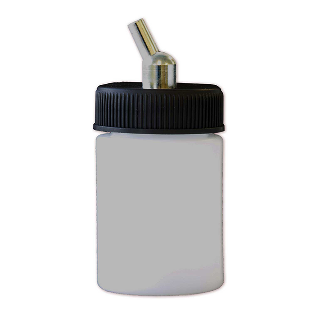Paasche Airbrush Paasche 1oz Plastic Bottle Assembly For VL, MIL, SI and TS - BA-60-1P