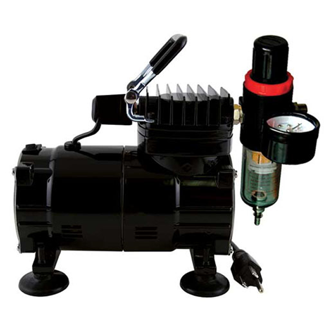 Paasche Airbrush Paasche Model DA300R Air Compressor (1/8 hp.) with Auto Shutoff & Regulator