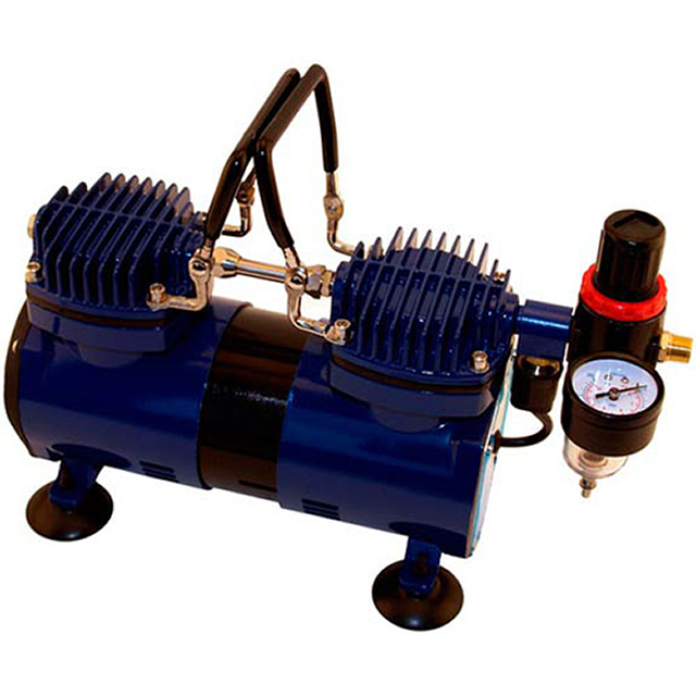 Paasche Airbrush Paasche DA400R Air Compressor with Auto Shutoff and Regulator