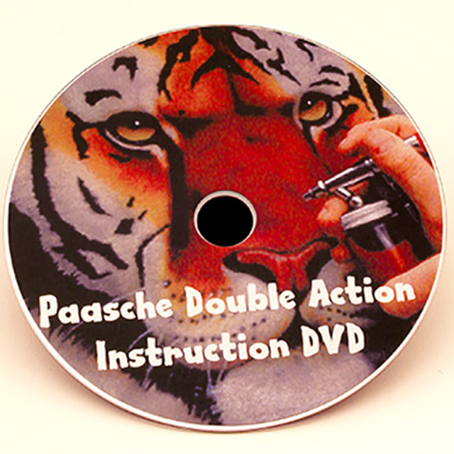 Paasche Airbrush Paasche DVD-VL Airbrushing With The VL