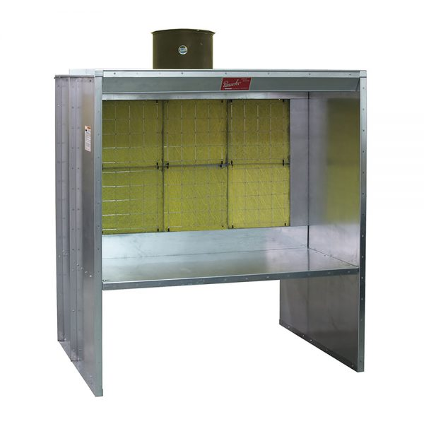 Paasche Airbrush Paasche FABSF Filter Booth Type Shelf 7' High: 8' Wide