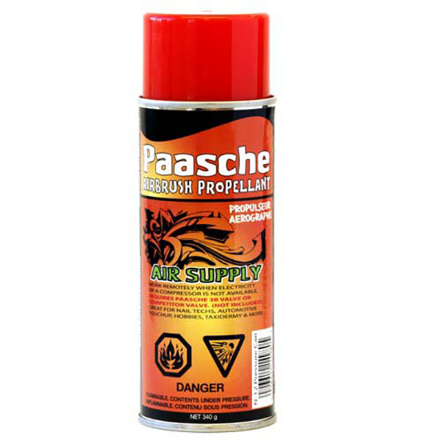 Paasche Airbrush Paasche 12 Ounce Airbrush Propellant Can - N-12