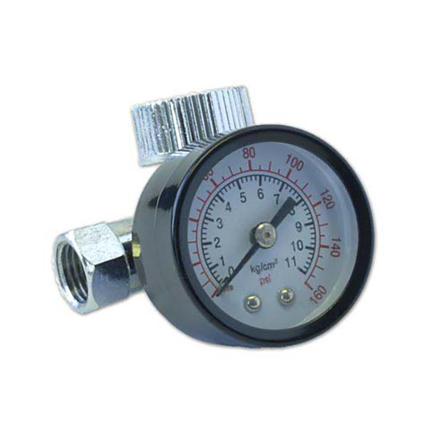 Paasche Airbrush Paasche Regulator with 160# gauge, mounts to air inlet of spray guns. - RG-160