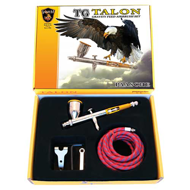 Paasche Airbrush Paasche TG-SET Gravity Feed Talon Airbrush Set