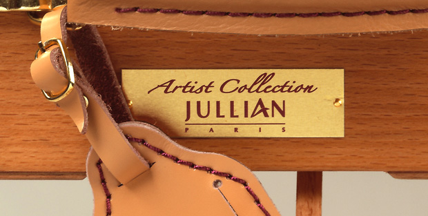 Jullian Original Half Size French Sketch Box Easel: Plaque