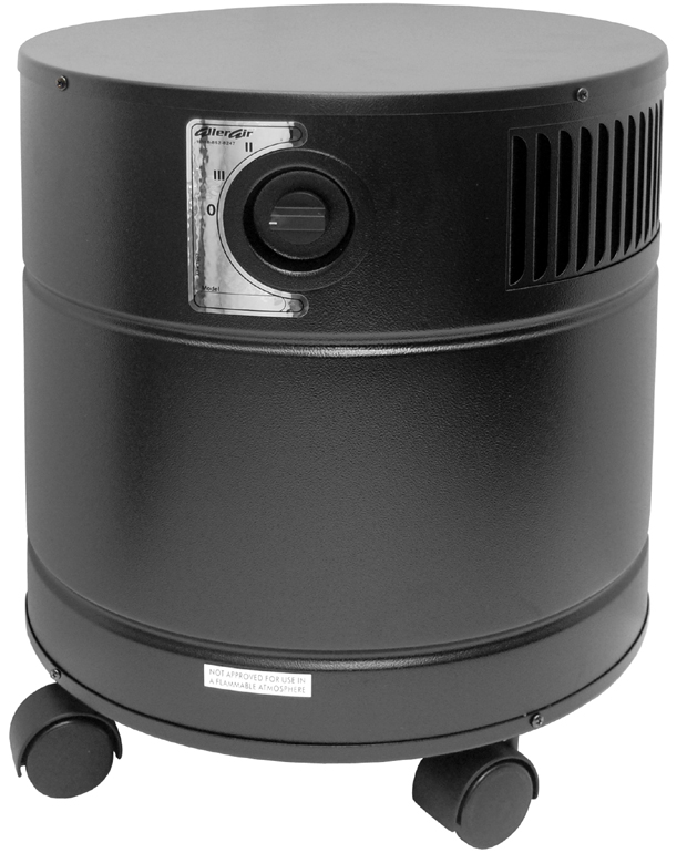 AllerAir 4000 DX Vocarb Air Purifier: Black
