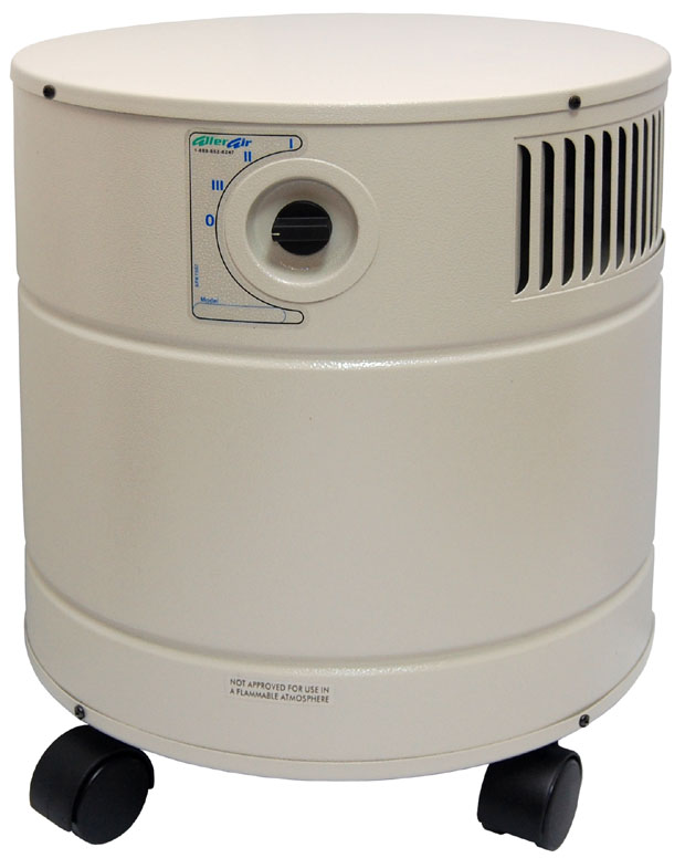 AllerAir 4000 DX Vocarb Air Purifier: Sandstone