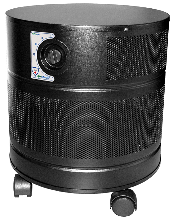 Allerair AirMedic+ D MCS Air Purifier: Black