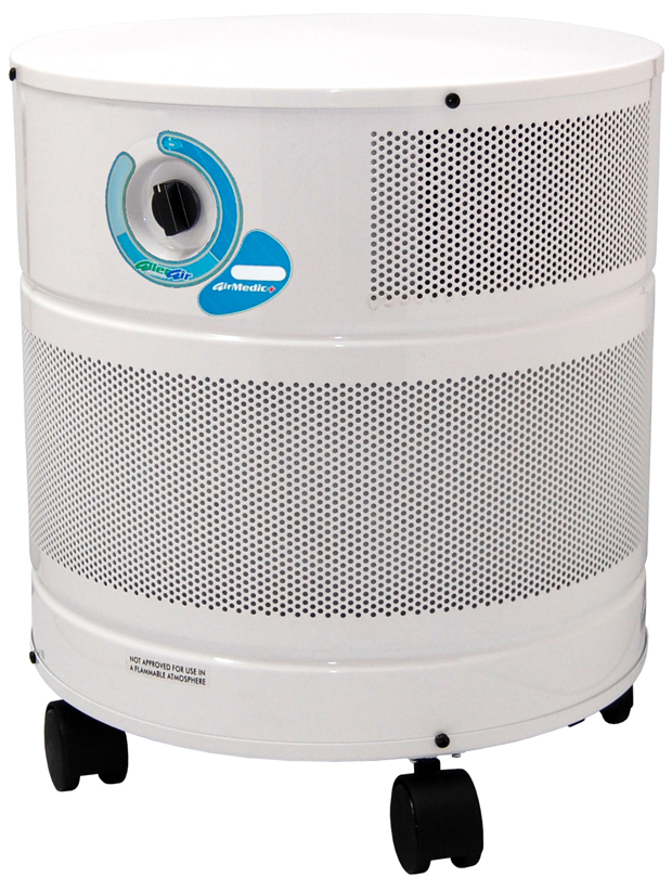Allerair AirMedic+ D Vocarb Air Purifier: White