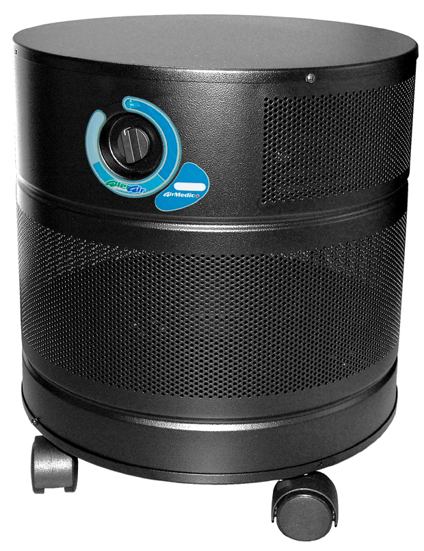 Allerair AirMedic D MCS Air Purifier:Black