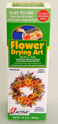 Canister Flower Art Silica Gel: 1.5 lb