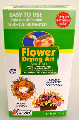 Canister Flower Art Silica Gel: 5 lb