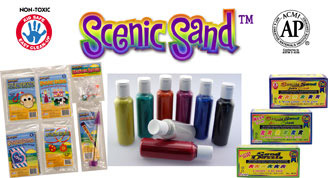 Scenic Sand Assortment: Pack of 12