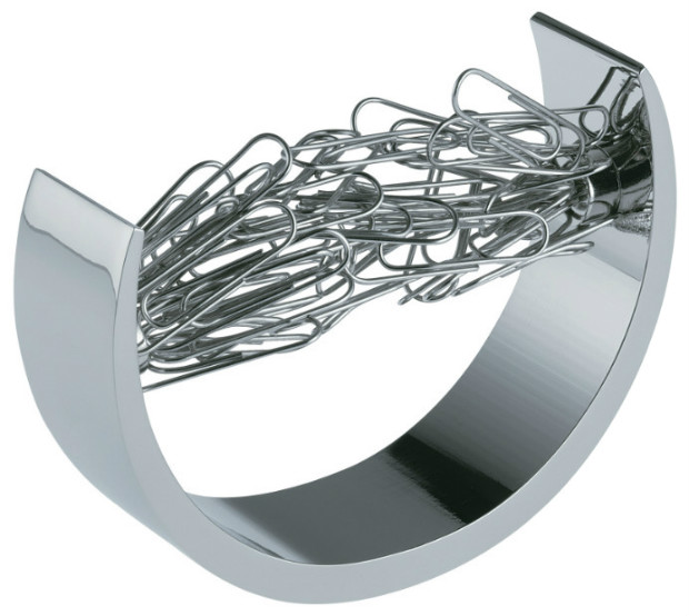 Alvin Reeko Bow Shaped Paper Clip Holder