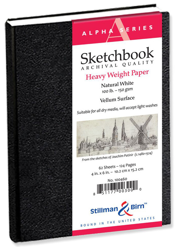 "Stillman & Birn™ Alpha Series Hardbound 4"" X 6"" Sketchbook"