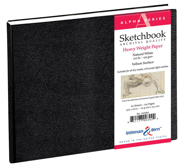"Stillman & Birn™ Alpha Series Hardbound 9"" X 6"" Sketchbook"