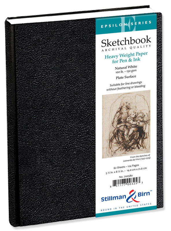 "Stillman & Birn™ Epsilon Series 5.5"" X 8.5"" Hardbound Sketchbook"