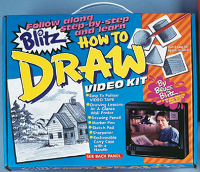 Bruce Blitz How to Draw Set - with 1 Hr DVD
