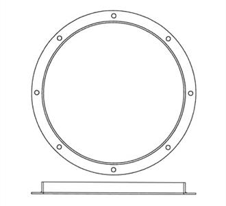 "Paasche Airbrush Paasche BE-54 Vent Ring 24"" Inches"