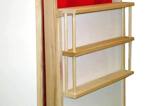 Beka 3-Tiered Theater Shelf Unit