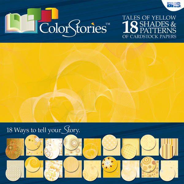 "Blue Hills Studio™ ColorStories™ 12"" x 12"" Paper Pack Yellow"
