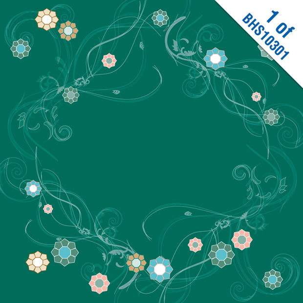 Blue Hills Studio ColorStories Paper Pack: Green, 12 x 12