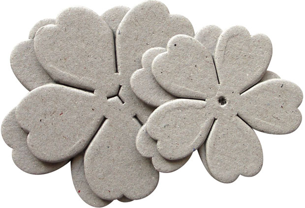 Blue Hills Studio Irene's Garden Chipboard Die-Cut Stack Pack: Set D