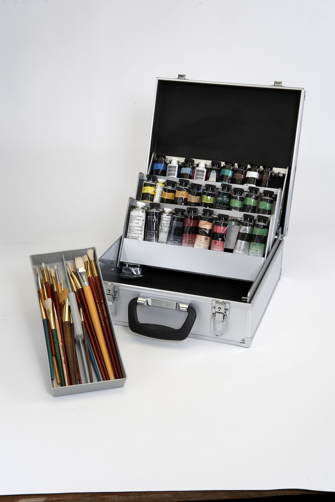 Logan Paint Organizing and Storage Case