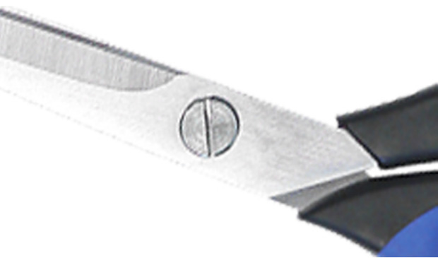 Blades are screw fastened and feature a double ground surface to cut through thicker materials.