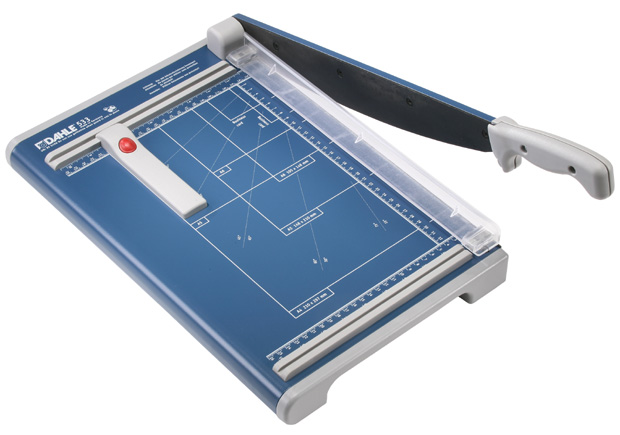 Dahle Professional Series Guillotine: 12 Inch Cut Length