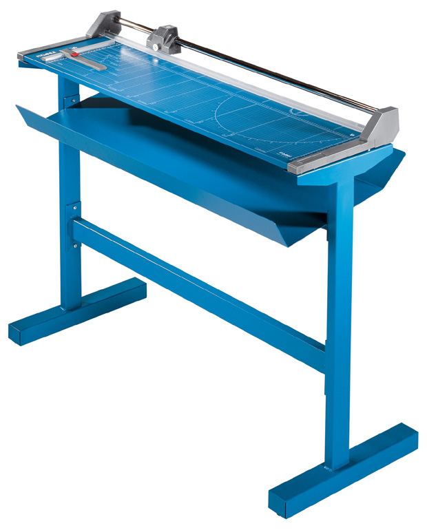 Dahle Professional Large Format Rolling Trimmer with New Stand: 51 Inch Cut Length