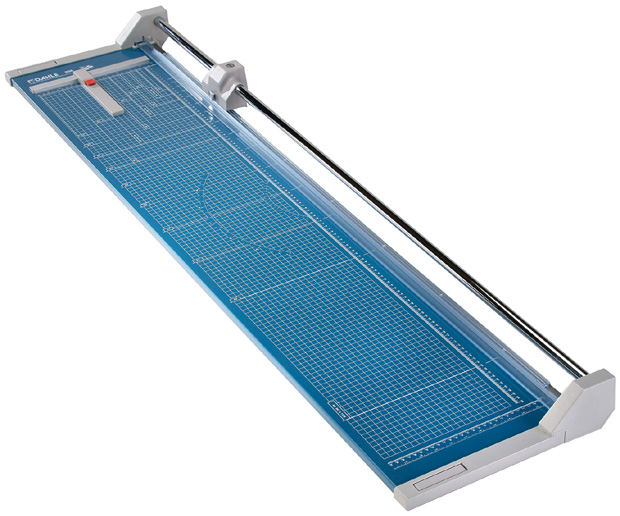 Dahle Professional Rolling Trimmer: 51 Inch Cut Length