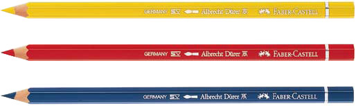 Faber-Castell Albrecht Durer Artists' Watercolour Pencil: Middle Cadmium Red, Pack of 12