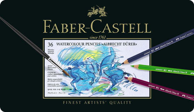 Faber-Castell Albrecht Durer Artists' Watercolour Pencil: Tin of 36