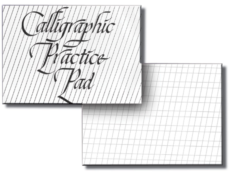Inovart Calligraphy Practice Paper Pad - 50 sheets