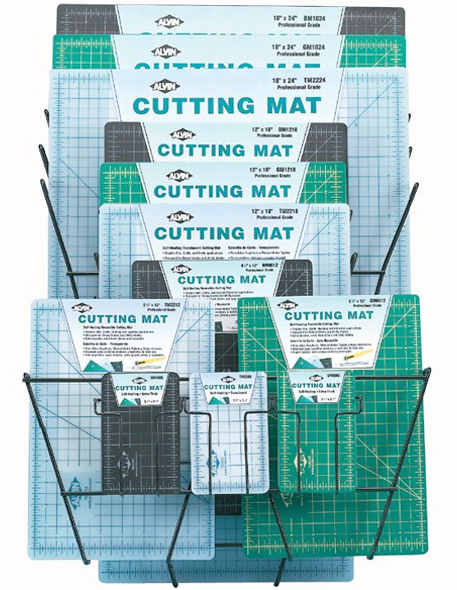 Alvin Professional Cutting Mats Display/33 Assorted