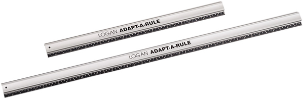 Logan Straight Edges Adapt-A-Rule 40inch