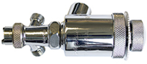 Paasche Auto Gun With Separate Air Atomizing Port And Fan Spray Pattern