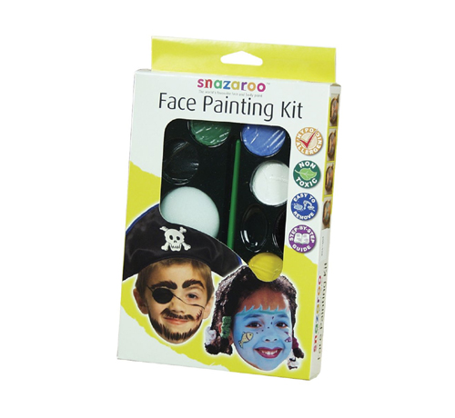 Snazaroo Primary Face Painting Kit