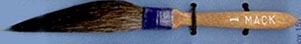 Mack Original Sword Striping Brush Series 10: Width of Head 7.93 mm, Size - 1