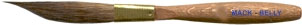 Mack Three Innovative Stripers Series M-B: Mack-Belly Pinstriping Brush, Size - 1