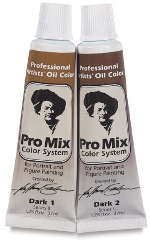 John Howard Sanden Pro Mix Oil Color Dark 2: 37ml, Tube